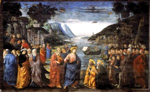 Vocation of the Apostles by Domenico Ghirlandaio
