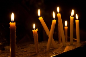 Candles in Coptic church by Héctor de Pereda, on Flickr (CC BY-NC 2.0)