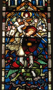 St. Michael the Archangel by Fr. Lawrence Lew, O.P. via Flickr (CC BY-NC 2.0)