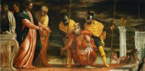 Healing the Centurion's servant by Paolo Veronese, via Wikimedia Commons