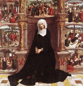 Our Lady of the Seven Sorrows by Adriaen Isenbrant