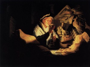 Parable of the Rich Man by Rembrandt